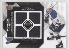 2008-09 Upper Deck Black Diamond Quad Jerseys BDJ-PK Paul Kariya St. Louis Blues