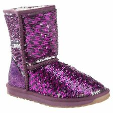 Classic Short Purple Sequin UGG Boot Made in Australia JUMBUCK UGG Boots 7 Lady