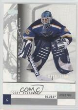2002-03 Upper Deck Mask Collection #117 Cody Rudkowsky St. Louis Blues RC Card