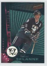 1997 Pacific Dynagon Emerald #5 Teemu Selanne Anaheim Ducks (Mighty of Anaheim)