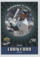 2006 Upper Deck First Pitch Diamond Stars #DS-31 Carl Crawford Tampa Bay Rays