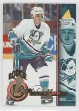 1994 Pinnacle 486 Valeri Karpov Anaheim Ducks (Mighty of Anaheim) RC Hockey Card