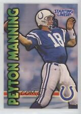 1999 Hasbro Starting Lineup #18 Peyton Manning Indianapolis Colts Football Card