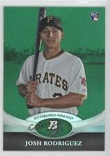 2011 Bowman Platinum Green #2 Josh Rodriguez Pittsburgh Pirates Baseball Card