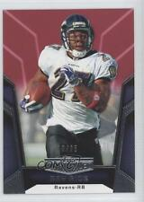 2010 Topps Unrivaled Red #98 Ray Rice Baltimore Ravens Football Card