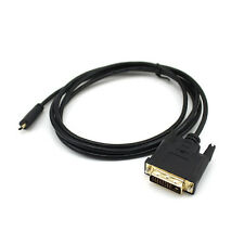 Connector Gold Plated Adapter Micro HDMI To DVI DVI-D Pin Male To Male Cable