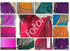 NEW BOLLYWOOD STYLE INDIAN TRADITIONAL SARI SAREES DESIGNER PARTY WEAR