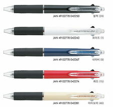2-6 Pcs UNI JETSTREAM 0.5mm 2-Pens 1-Pencil in-1 Retractable Pen in 5-Colors MSX