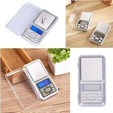 Light Pocket Digital Jewelry Scale Weight 500g x 0.1g Balance Electronic Gram