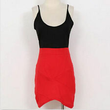 Package Hip Dress  Hot Fashion Sexy Low-Cut Tight Suspenders Mixed Colors