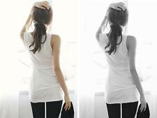 T-Shirt Tank Tops Sleeveless Bottoming Sexy  Cami Camisole Womens Vest