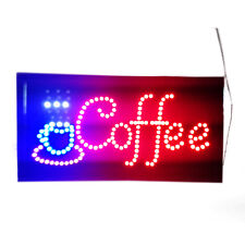 Neon Lights LED Animated Coffee Sign Attractive Customers Sign Store Shop Sign