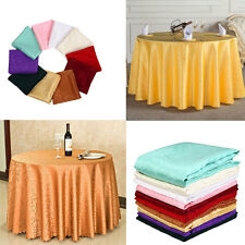 1.2mx1.2m Tablecloth Round Designed Party Festival Chain Link Decoration