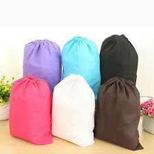 New Laundry Shoe Travel Pouch Portable Tote Drawstring Storage Bag Organizer