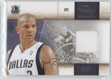 2009-10 Panini Studio Materials Memorabilia #18 Jason Kidd Dallas Mavericks Card