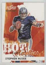 2009 Score Inscriptions Hot Rookies #29 Stephen McGee Dallas Cowboys Rookie Card