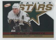 2001-02 Pacific Atomic Red #33 Joe Nieuwendyk Dallas Stars Hockey Card