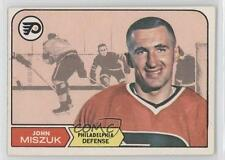 1968-69 O-Pee-Chee #93 John Miszuk Philadelphia Flyers RC Rookie Hockey Card