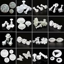 New Fondant Cake Cutter Plungers Cookies Mold Sugarcraft Pastry Decor Paste Tool