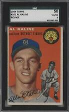 1954 Topps #201 Al Kaline SGC 50 Detroit Tigers RC Rookie Baseball Card
