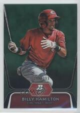2012 Bowman Platinum Prospects Green Refractor #BPP16 Billy Hamilton Rookie Card