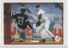 2010 Topps The Cards Your Mom Threw Out Original Back #13 Derek Jeter Card