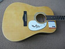 Merle Haggard Signed Autographed Acoustic Guitar PSA Certified