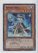 2011 Yu-Gi-Oh! Hidden Arsenal 5: Steelswam Invasion HA05-EN035 Gishki Ariel Card