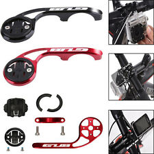 Metal Alloy Bicycle Out Front Handlebar Mount For Garmin Edge / Cateye Computer