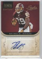 2011 Playoff National Treasures #279 Roy Helu Jr Washington Redskins Jr. Auto