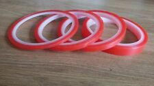 Acid free red super sticky double sided craft tape super strong crafting tape
