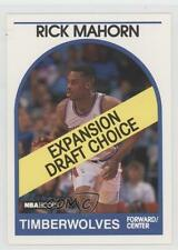 1989 NBA Hoops #330 Rick Mahorn Minnesota Timberwolves RC Rookie Basketball Card