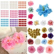 20Pcs Rose Head Artificial Silk Flower Heads Wedding Party Decoration Assorted