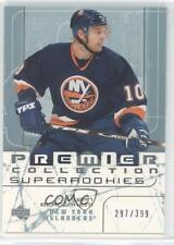 2003-04 Upper Deck Premier Collection 76 Sean Bergenheim New York Islanders Card