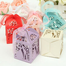 10/50/100x NewSweet Married Wedding Favor Box Gift Boxes Candy Paper Party Boxes