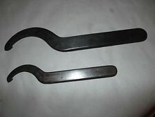 """2  Hook Spanner Wrenches 3 3/4"""" & 2 3/8"""""""