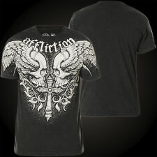 Affliction T-Shirt Power Tour Black