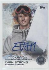 2014 Topps US Olympic & Paralympic Team and Hopefuls 79 Evan Strong /30 Auto 0u5