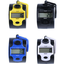 Creative Mini 5 Digit LCD Electronic Digital Golf Finger Hand Ring Tally Counter