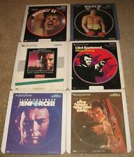 CED MOVIE LOT (CAPITANCE ELECTRONIC DISC) YOU MAY CHOSE 10 CED'S ONLY FROM LIST!