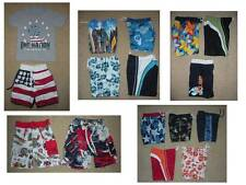 Carters Gymboree Wes & Willy swim shorts SWIMSUIT boys 12 18 24 24M 2T baby LOT