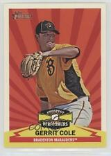 2012 Topps Heritage Minor League Edition Prospect Performers #PPGC Gerrit Cole