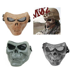 Hunting Costume Party Training Tactical Military Skull Skeleton Full Face Mask