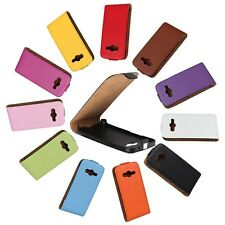Flip Case Genuine Leather Cover for Samsung Galaxy Ace S7270 G313 S5830 I8160