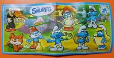 NEW KINDER FERRERO SURPRISE SMURFS VILLAGE 2017 PEYO FIGURES SCHTROUMPF PITUFOS