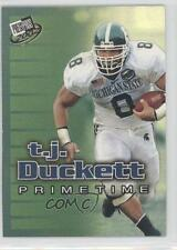 2002 Press Pass PrimeTime #PT3 TJ Duckett Michigan State Spartans T.J. Card