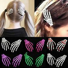 Accessories Zombie Ghost Skeleton Hand Bone Claw Hairpin Halloween Hair Clips