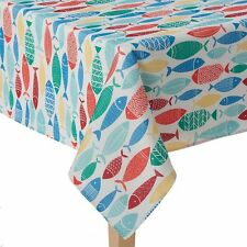 BRAND NEW CELEBRATE SUMMER TOGETHER INDOOR & OUTDOOR TABLECLOTHS MULTI COLORS