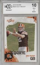 2010 Score #323 Colt McCoy Cleveland Browns RC Rookie Football Card