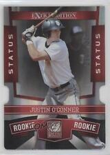 2010 Donruss Elite Extra Edition Status Red Die-Cut #109 Justin O'Conner Card